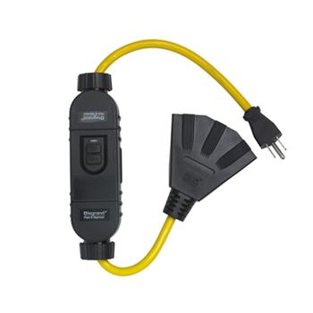 Mayer-In-Line Portable 15A GFCI, Auto Reset 1594TC2A-1