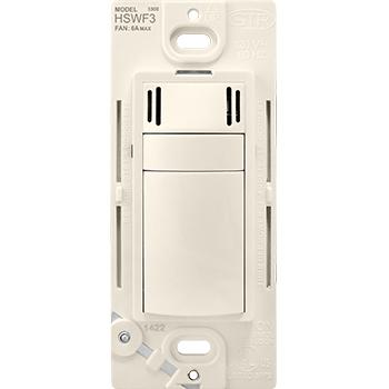 Pass & Seymour HSWF3LA 6A Fan Control Humidity Sensor - Light Almond