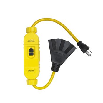 Mayer-In-Line Portable 15A GFCI, Manual Reset 1594TC2M-1