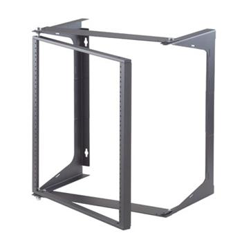 "ORT Swing-EZ Wall Rack, Black, 25.00""D OR-19-21-T25DB"