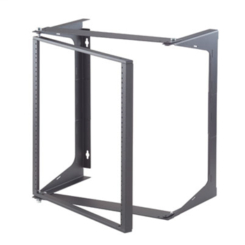 "Swing-EZ Wall Rack, Black, 25.00""D OR-19-21-T25DB"