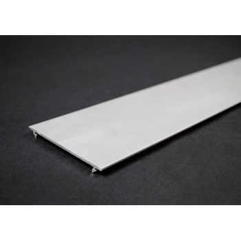 Wiremold ALAC-5 5 Foot x 3 Inch Satin Anodized Aluminum 1-Channel Raceway Cover