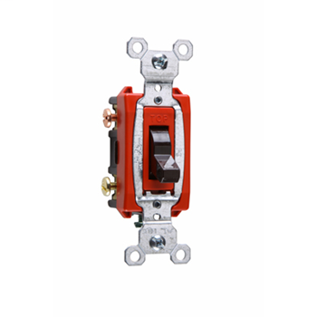Commerical Specification Grade Switch, Brown CS20AC3
