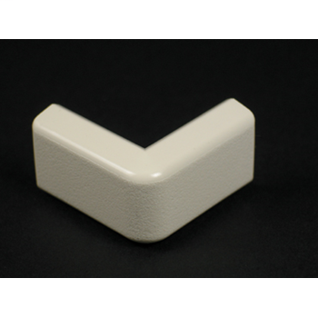 """Wiremold 418 1-1/2"""" Ivory External Elbow"""