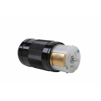 Pass & Seymour CS6364 50 Amp 125/250 VAC 4-Wire Non-NEMA Nylon Locking Connector