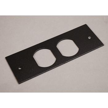 Mayer-OFR Series Overfloor Raceway Duplex Device Plate OFR47-D-1