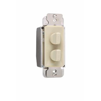 Pass & Seymour 94315-I 1.5A/300W Dimmer 3-Speed De-Hummer Fan Control - Ivory