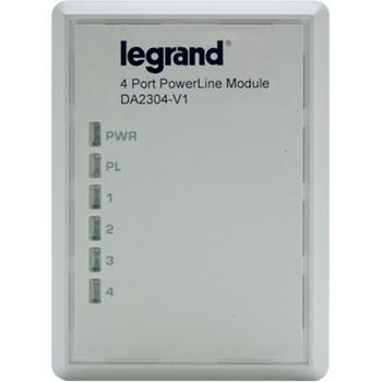 Gigabit 4-Port Powerline Adapter DA2304-V1