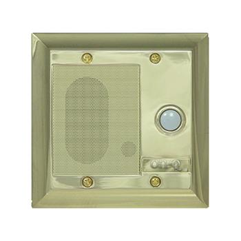Intercom Door Unit, Weather Resistant, Shiny Brass F7596-SB