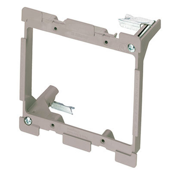 PASS & SEYMOUR 2-Gang LV Swing Bracket for Retrofit with Quick Click AC1010-02