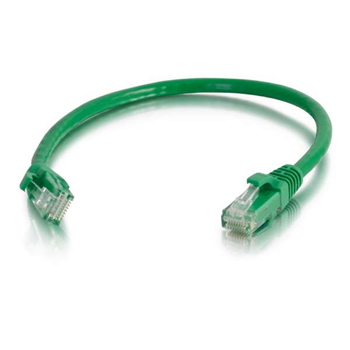 Mayer-10ft Value Series Cat6 Booted Patch Cord - Green 576-120-010-1