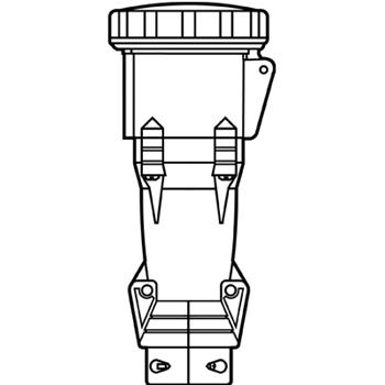 P&S PS420C7W P/S CONN 4W 20A 3PH 48