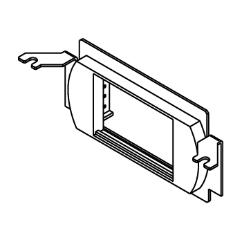 Wiremold RFB4-LPB Steel Recessed Floor Box Communication Bracket with Low Profile Adapter