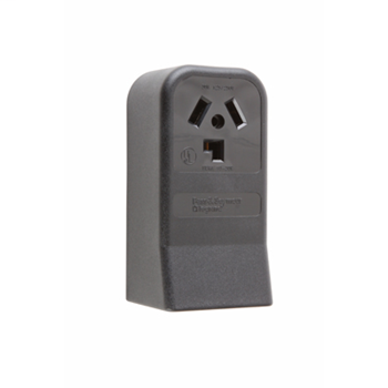 Pass & Seymour 388 30 Amp 125/250 VAC 3-Pole 3-Wire NEMA 10-30R Single Dryer Straight Blade Power Receptacle