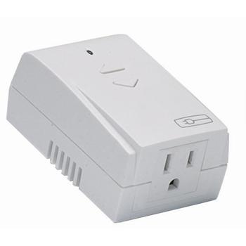 On-Q MRP7-W 120 VAC 800 W 900 MHz High Impact Plastic White Plug-In Appliance Module