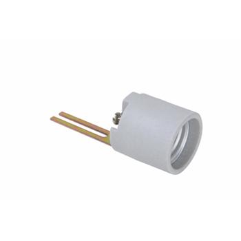 Pass & Seymour 3352-F 250 Volt 660 W White Porcelain Short and Medium Base Incandescent Lampholder