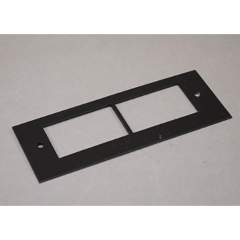 OFR Series Overfloor Raceway Communications Device Plate OFR47-2A