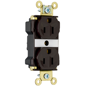 Pass & Seymour PT5262AGRY 15 Amp 125 Volt Gray PlugTail Industrial Extra Heavy Duty Spec Grade Receptacles