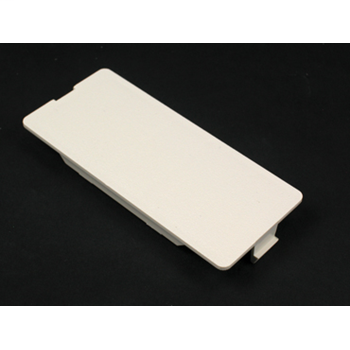 Wiremold 5507B Non-Metallic Blank Ivory Faceplate