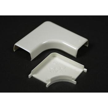 Wiremold 411 Non-Metallic Flat Ivory 90 Dergree Elbow
