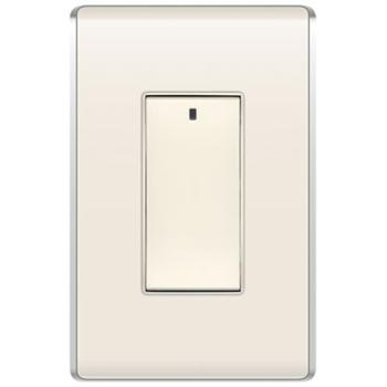 Wattstopper DRD8-A V2 2.64 x 1.75 x 1.76 Inch 120/277 VAC Light Almond Wireless Decorator Multi-Location Controller