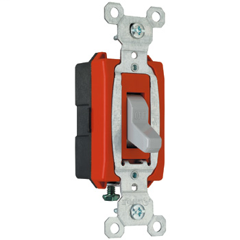 Mayer-Commerical Specification Grade Switch, Gray CS20AC1GRY-1