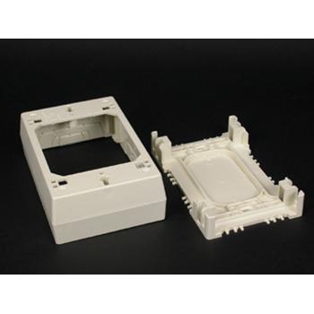 Wiremold 2347 Non-Metallic Ivory Device Box
