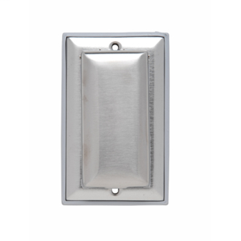 Pass & Seymour WP26 2.75 x 4.5 Inch 1-Gang Stainless Steel Dustproof Wallplate Cover