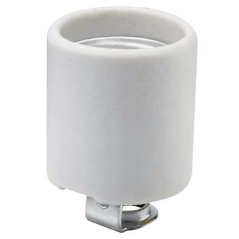Pass & Seymour 3152-8 250 Volt 660 W White Porcelain 1-Circuit Medium Base Incandescent Lampholder