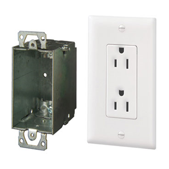 Mayer-Surge Protected Duplex Power Kit 364569-02-V1-1