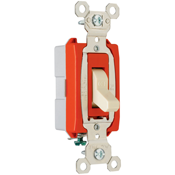 Industrial Extra Heavy-Duty Specification Grade Switch, Ivory PS20AC1I