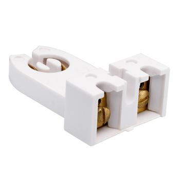 Pass & Seymour 390-1W Medium Bi-pin Flourescent Lampholder Screw Terminals. White