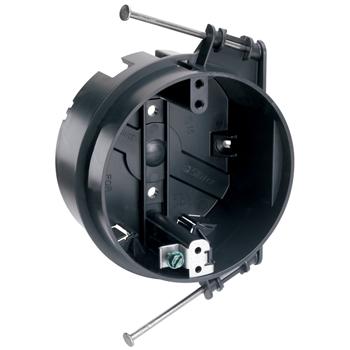 """Pass & Seymour S1-20-RGAC 4 x 2-3/16"""" 20.25"""" Plastic Round Ceiling Box"""