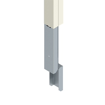 Mayer-25DTC Series 5' Pole Extender, Ivory 25DTC-E5-1