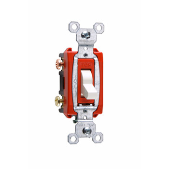 Commerical Specification Grade Switch, White CS20AC3W
