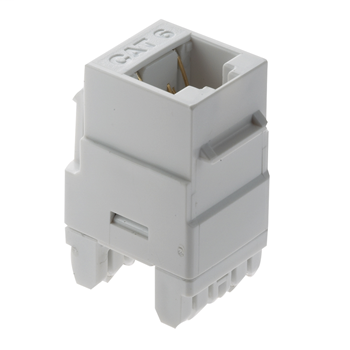 PS WP3460-WH RJ45 Cat 6 KeystoneInsert, White