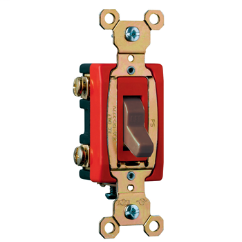 Mayer-Hard Use Specification Grade Switch, Brown CSB20AC2-1