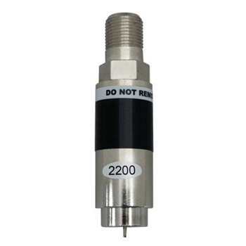 On-Q VM2200-V1 Black Signal Filter Coaxial Network Signal Blocker