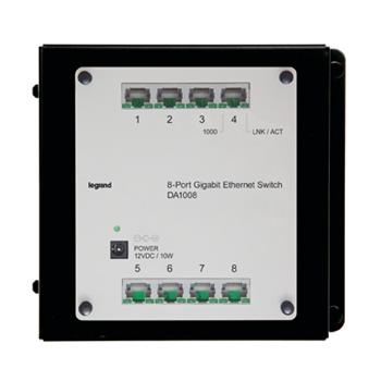 8-Port Gigabit Ethernet Switch DA1008