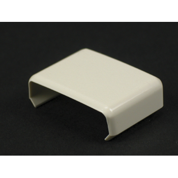 "Wiremold 806 1-3/8"" Ivory Non-Metallic Cover Clip"
