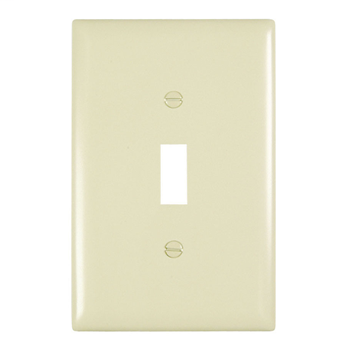Toggle Switch Openings, One Gang, Ivory TPJ1I