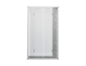 On-Q EN2880 14.3 x 3.7 x 28.1 Inch Powder Coated Glossy White Enclosure Without Cover