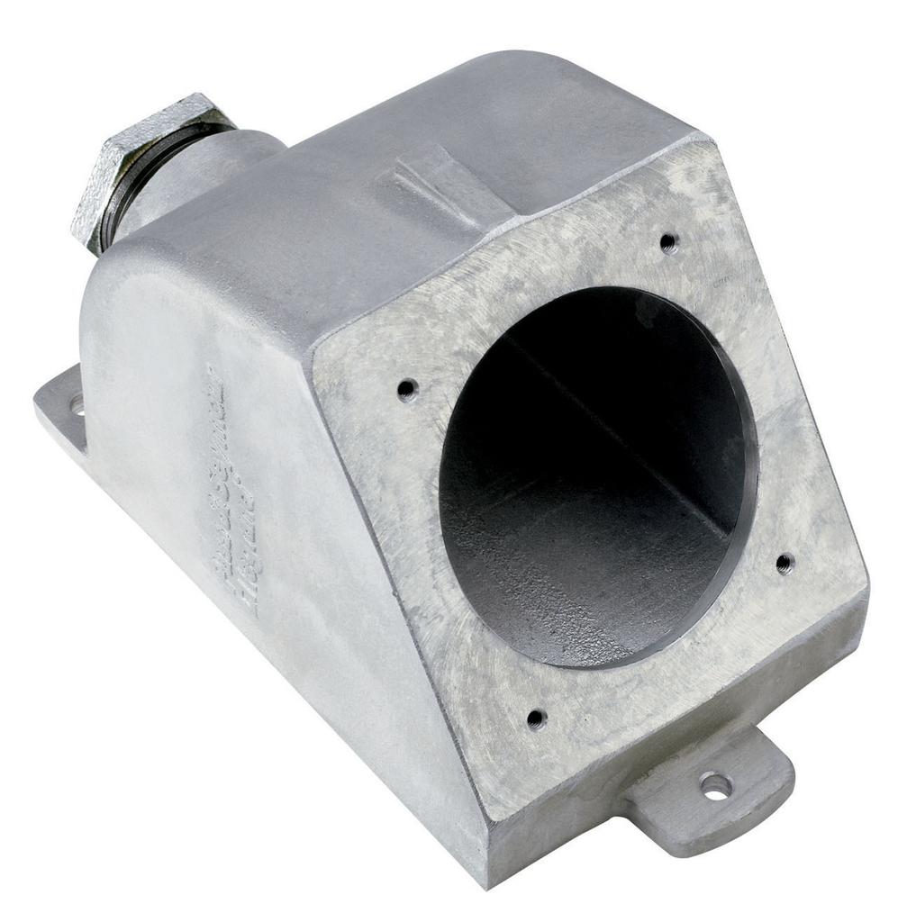 Pass & Seymour PSBB601-W 8.63 x 4.92 Inch 60 Amp Watertight Pin and Sleeve Back Box