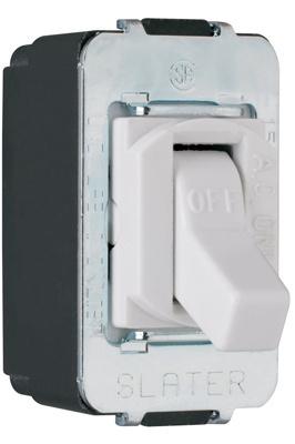 Despard Toggle Switch Screw Terminal, White