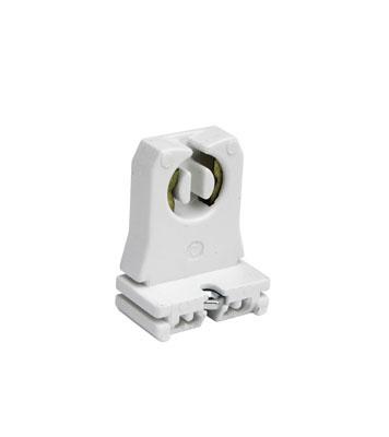 Pass & Seymour 13053-UN 1.25 x 0.75 x 1.68 Inch 600 Volt 660 W Slide-On Short Medium Bi-Pin Lamp Fluorescent Lampholder