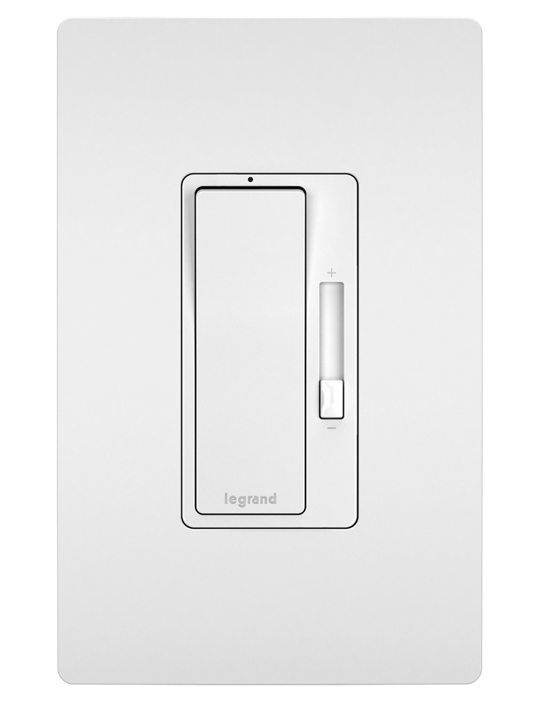 Legrand Radiant RHCL453PW 120 Volt CFL/LED White Wall Box Dimmer