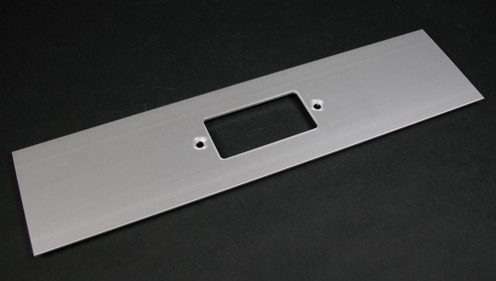Wiremold ALA-G 12 x 3 Inch GFCI/Surge/Decorator Raceway Cover Plate