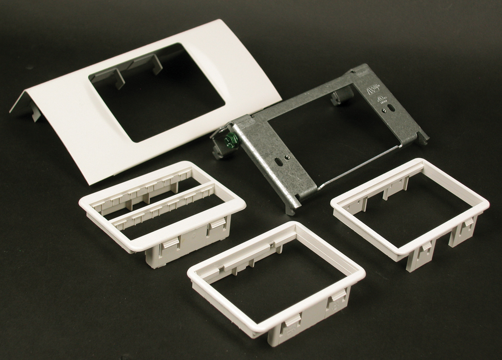 DS4000 Single Channel MAB Device Plate Fitting