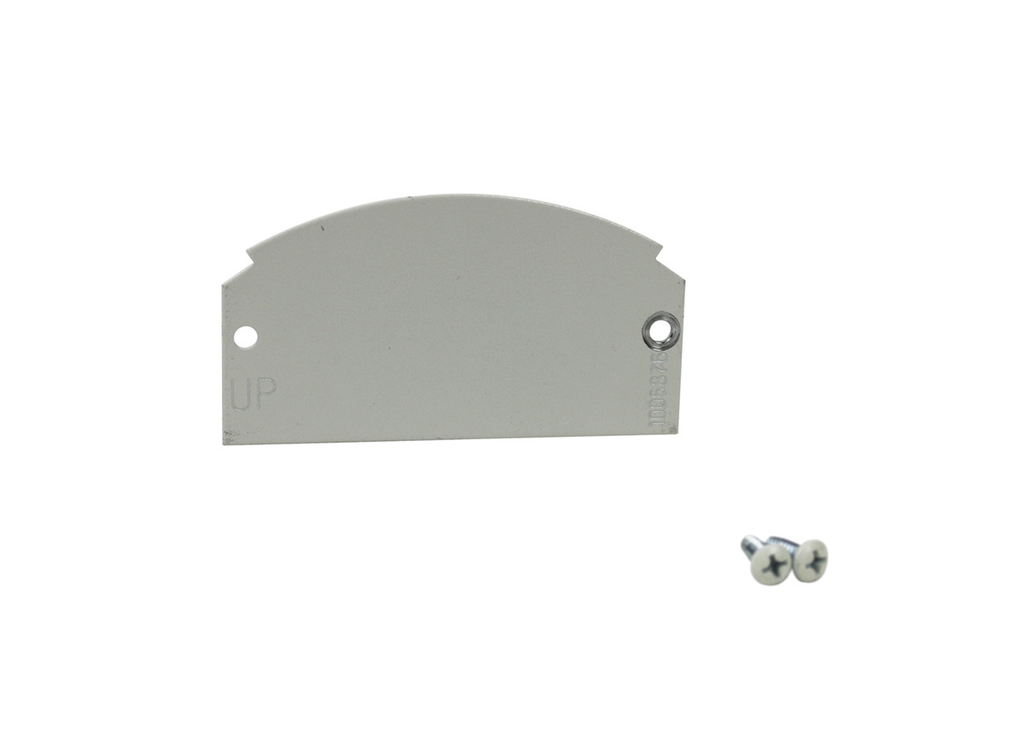 Wiremold 68B 1 or 2-Gang Poke-Through Device Plate
