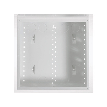 On-Q EN1480 14.1 x 3.7 x 14.1 Inch Powder Coated Glossy White Enclosure Without Cover
